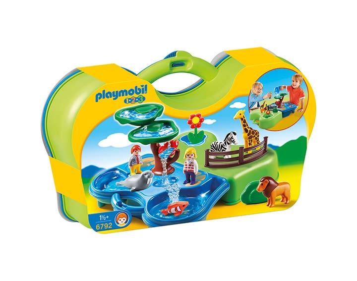 Zoo transportable avec bassins  aquatiques