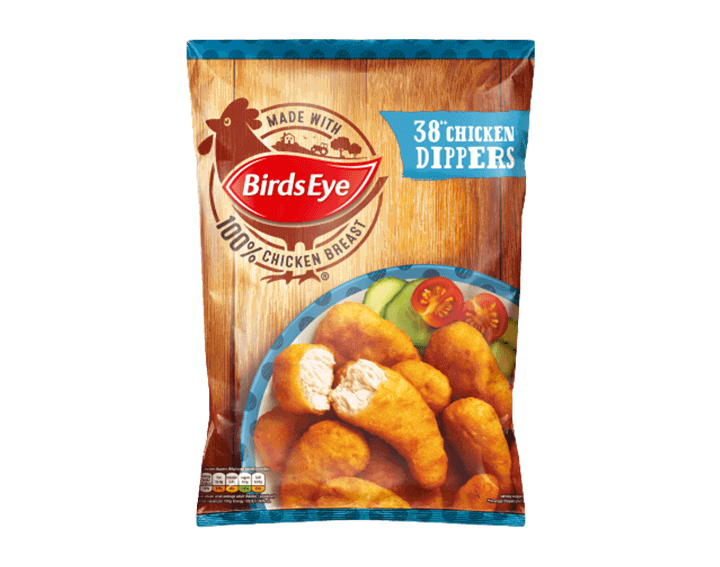 38 Chicken Dippers 697g