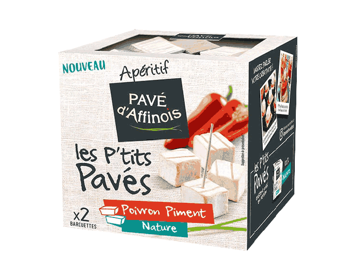 Les P'tits Pavés Poivron Piment et Nature