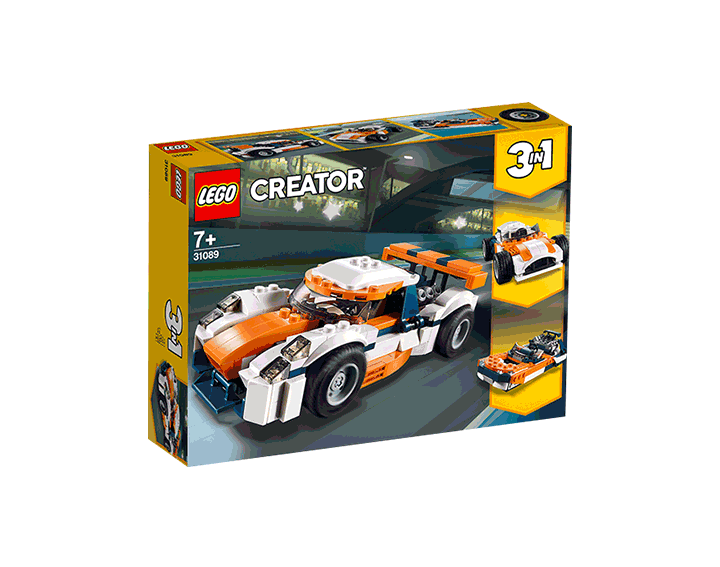 La voiture de course LEGO® Creator 3-en-1