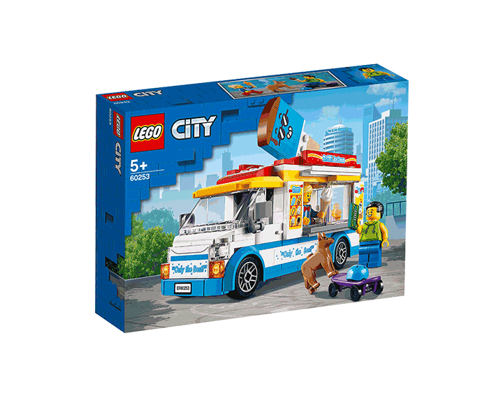 Le camion de glaces LEGO® City