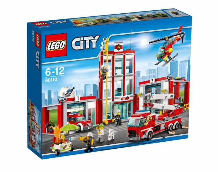 La caserne des pompiers