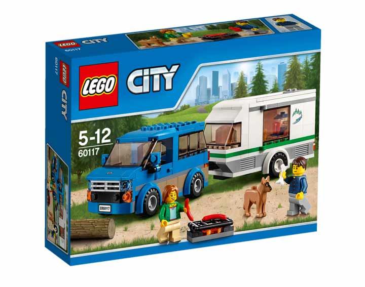 La camionnette et sa caravane