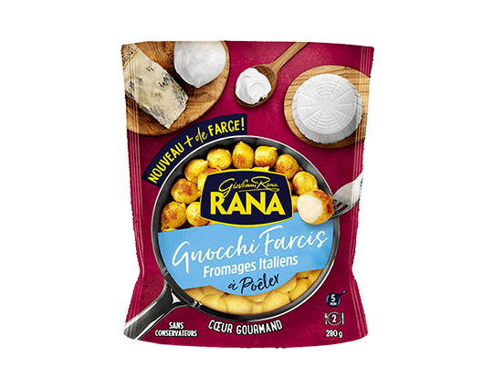 Gnocchi farcis Fromages italiens 280g
