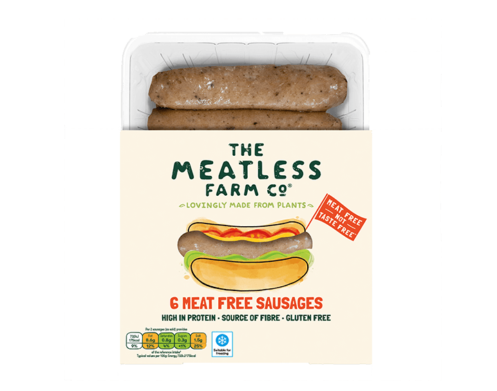 Meat Free Sausages x6, 300g