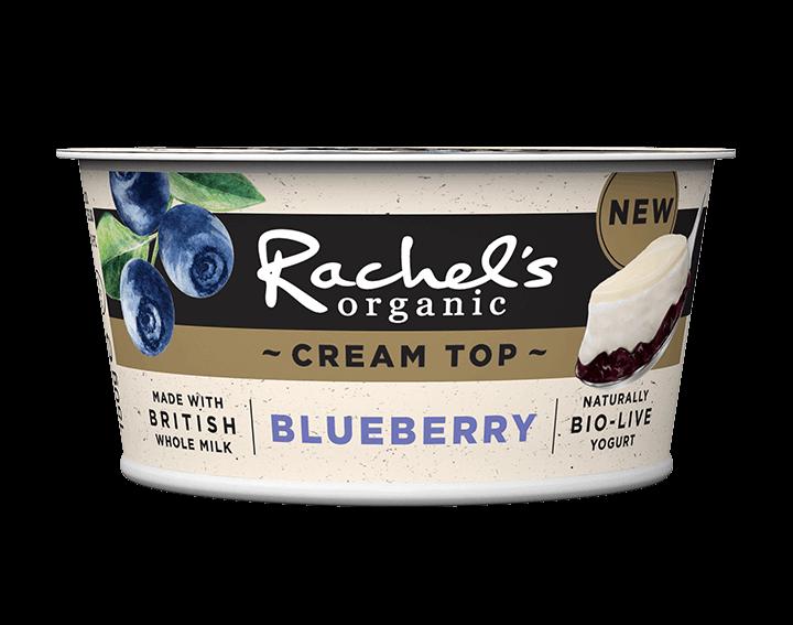 Cream Top Blueberry Yogurt 150g