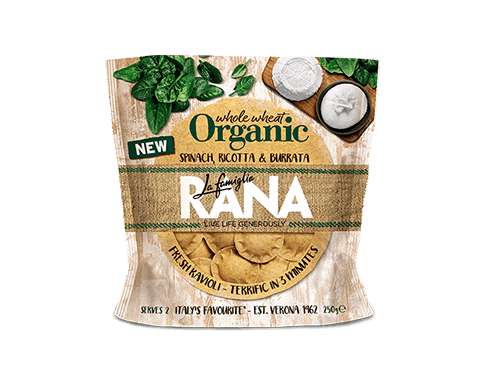 Spinach, Ricotta & Burrata Fresh Ravioli 250g