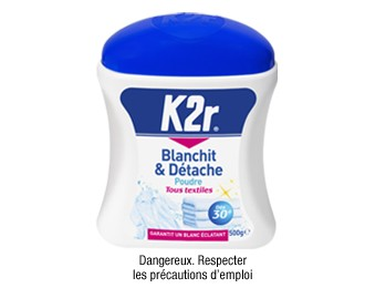 K2r® - Poudre Blanchit & Détache