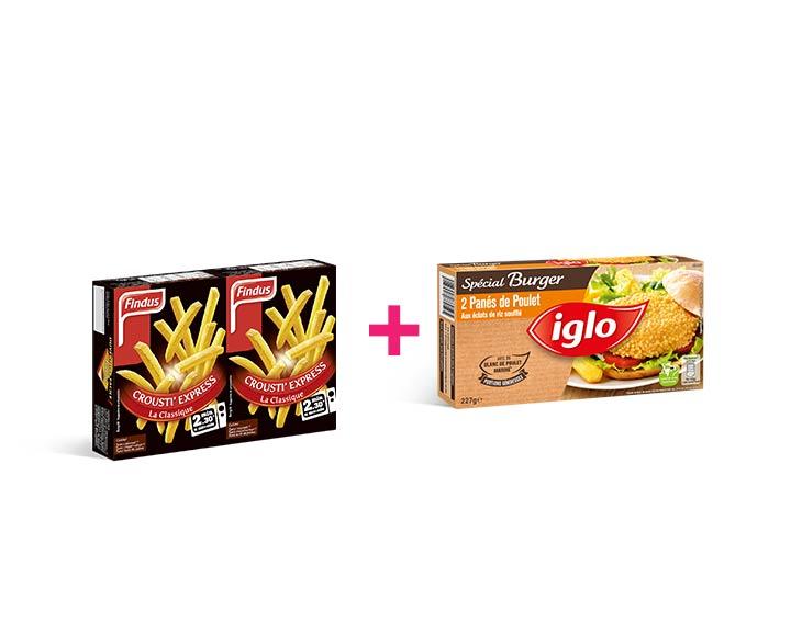 Iglo et Findus