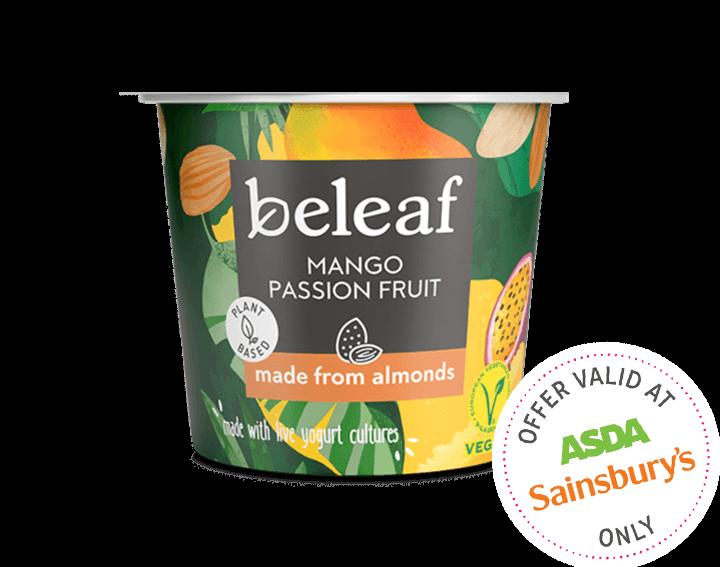 Mango Passion Fruit Yogurt Alternative 120g