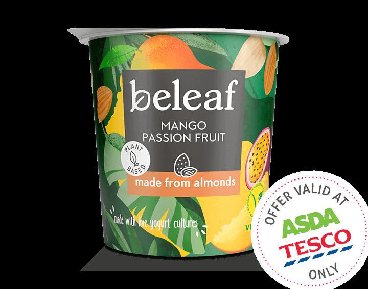 Mango Passion Fruit Yogurt Alternative 350g