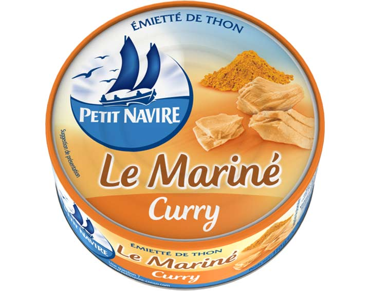 Thon Le Mariné Curry