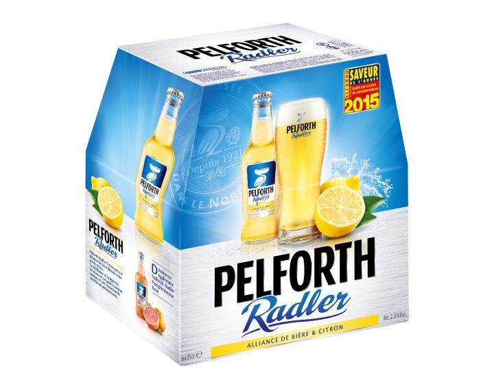 Pack de 6x25cl Pelforth Radler Citron