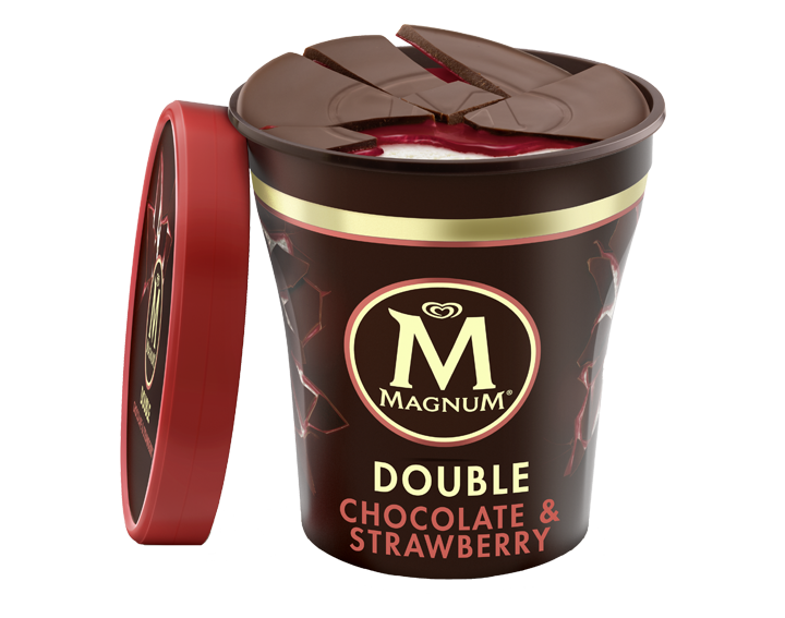 Magnum Double Strawberry 440ml