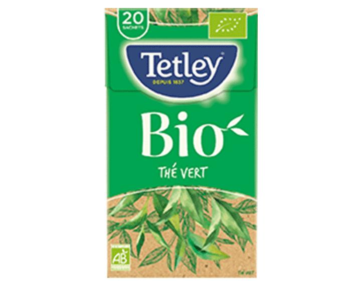 TETLEY Thé Vert BIO