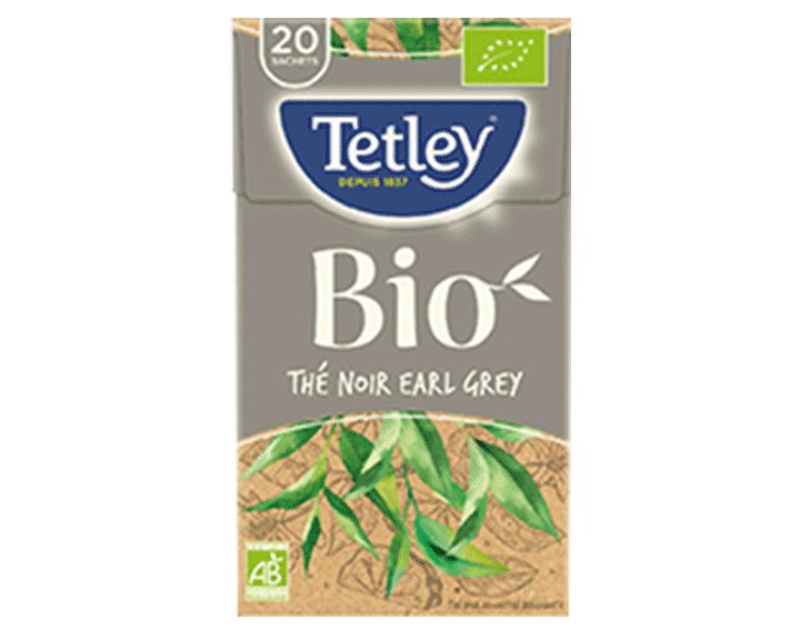 TETLEY Thé Noir Earl Grey
