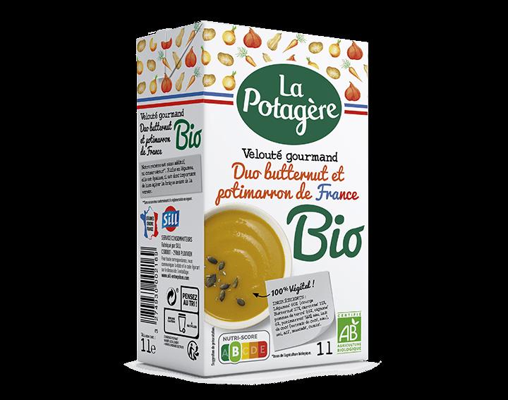 Velouté DUO Butternut et Potimarron de France
