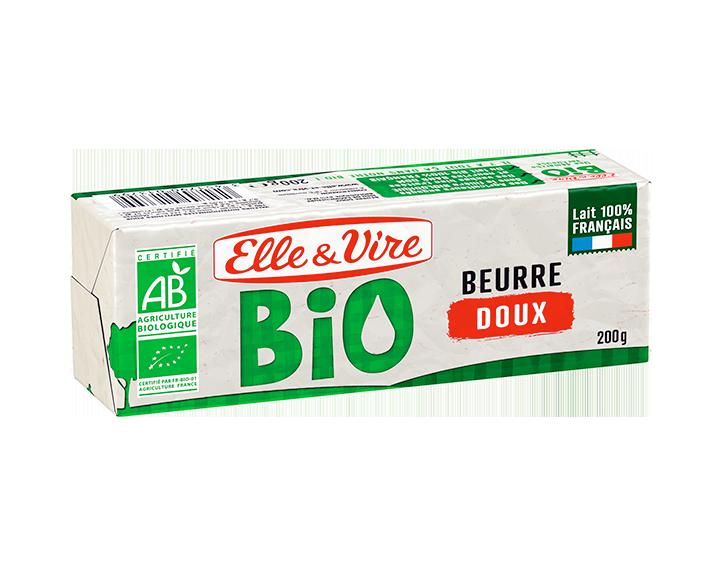 Elle & Vire Beurre Bio Doux 200g