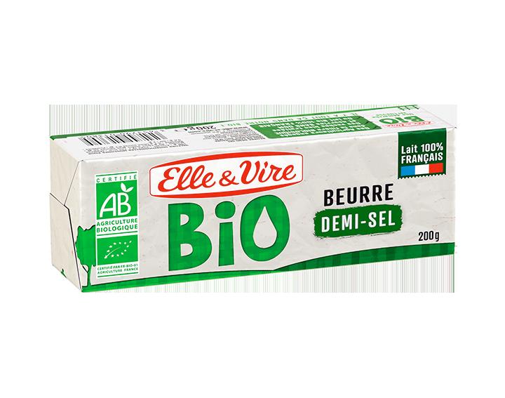Elle & Vire Beurre Bio Demi-Sel 200g