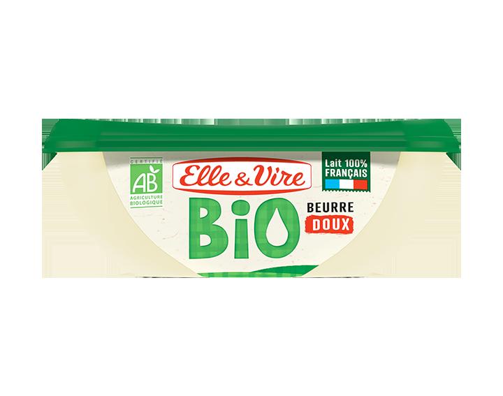 Elle & Vire Beurre Bio Doux Barquette 250g