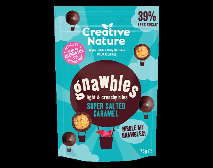 Gnawbles Super Salted Caramel Share Bag 75g