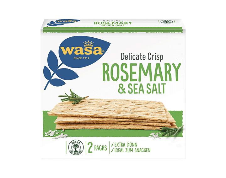 Delicate Crisp Rosemary & Sea Salt 190g