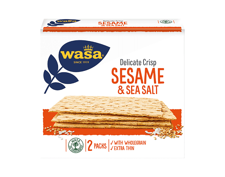 Delicate Crisp Sesam 190g