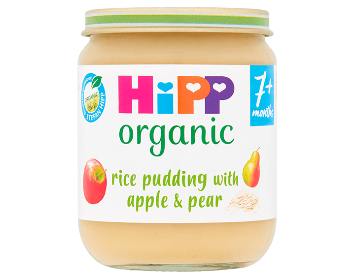 Rice Pudding with Apple & Pear 160g