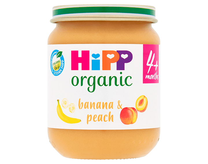 Banana & Peach 125g