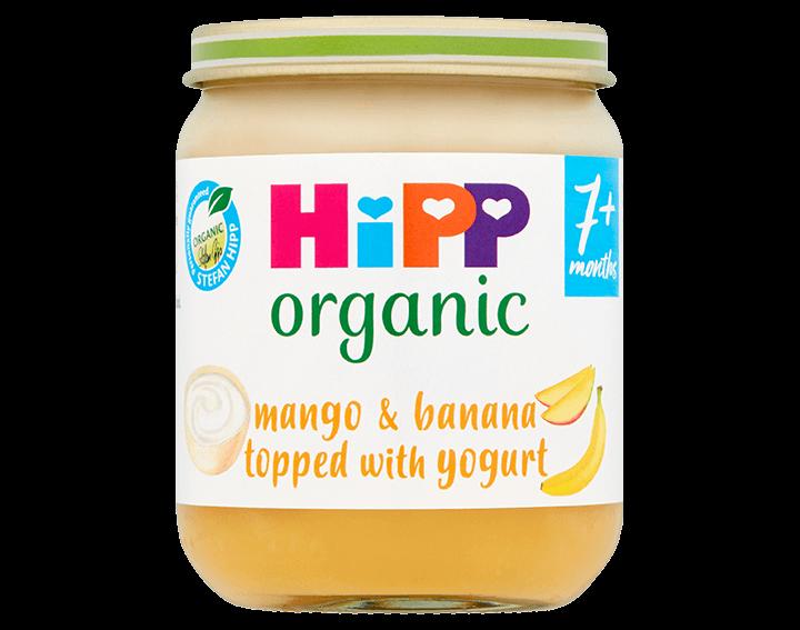 Mango & Banana Topped with Yogurt 160g