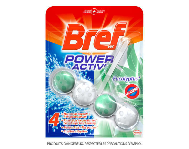 Bref WC Power Activ' Eucalyptus 50g