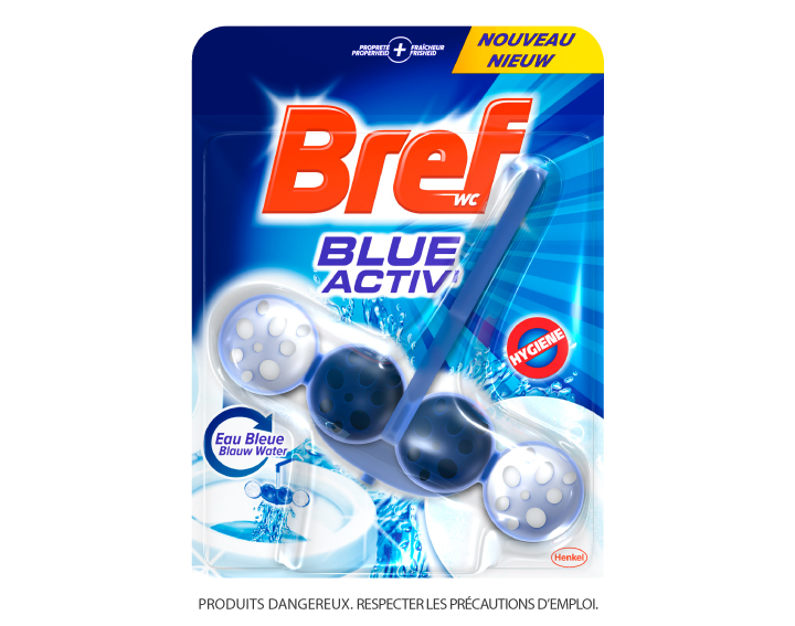 Bref WC Blue Activ' Eau Bleue 50g