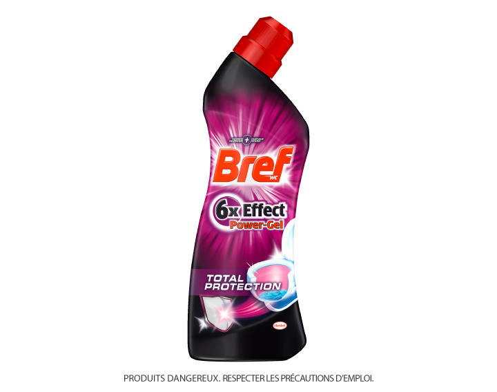 Bref WC 6x Effect Power Gel Total Protection 750ml