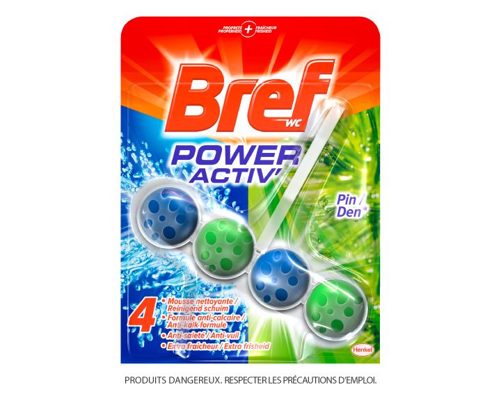 Bref WC Power Activ' Pin 50g