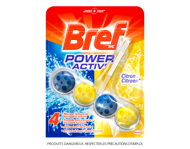 Bref WC Power Activ' Citron 50g