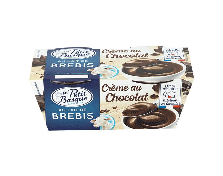Crème au Chocolat au lait de Brebis
