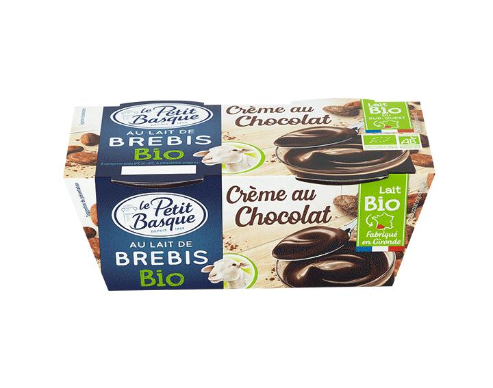 Crème au Chocolat BIO au Lait de Brebis