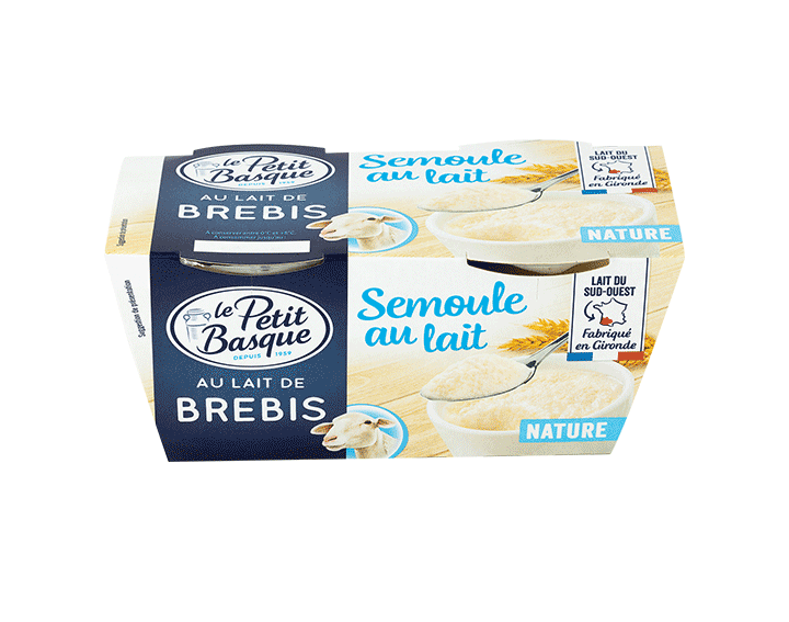 Semoule Nature au lait de Brebis