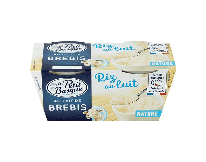 Riz Nature au lait de Brebis