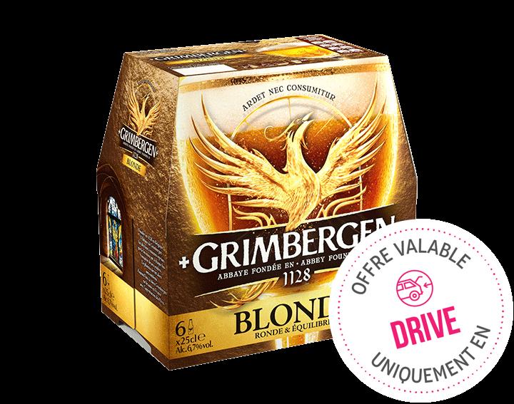 Grimbergen blonde - 6x25cl