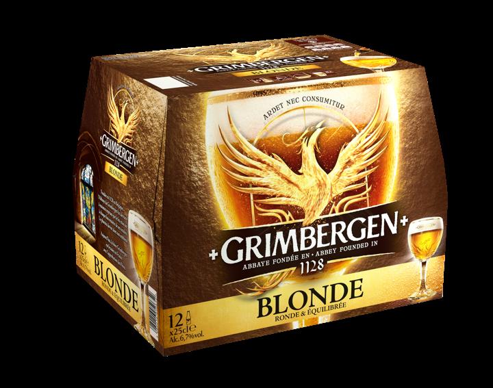 Grimbergen blonde - 12x25cl