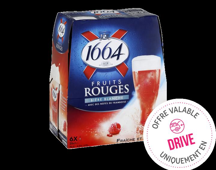 1664 Fruits Rouges 6x25cl