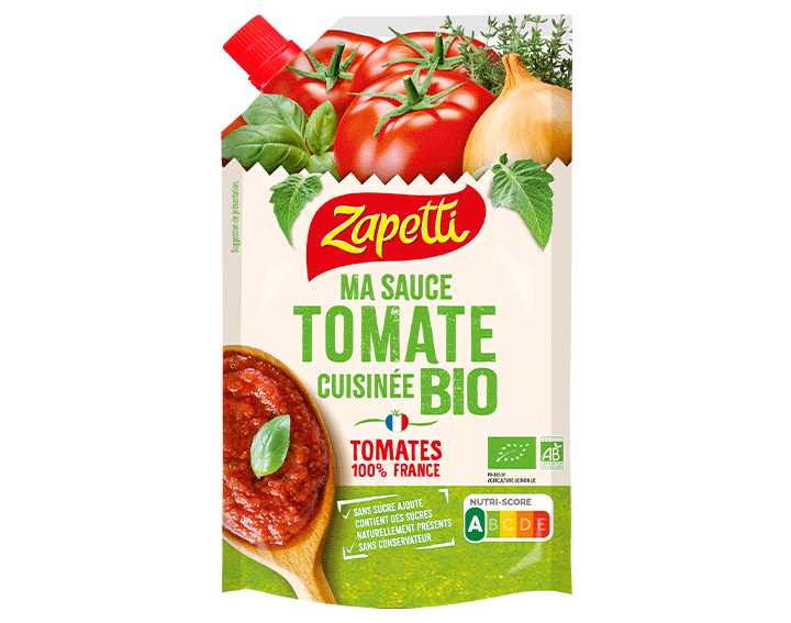 Ma sauce tomate cuisinée BIO