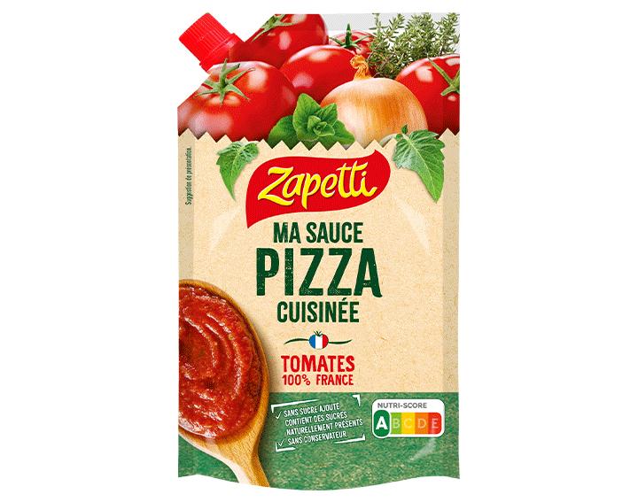 Ma sauce pizza cuisinée