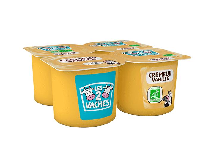 Dessert crèmeuh vanille 4x95g