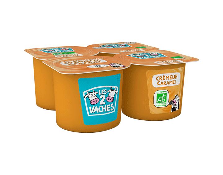 Dessert crèmeuh caramel 4x95g