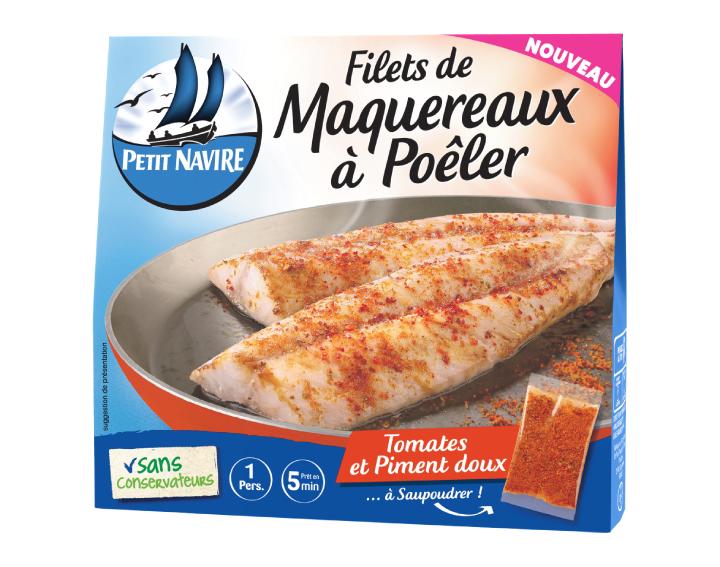 Filets de Maquereaux à Poêler Tomates et Piment doux - 120g