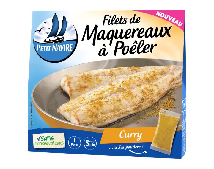 Filets de Maquereaux à Poêler Curry - 120g