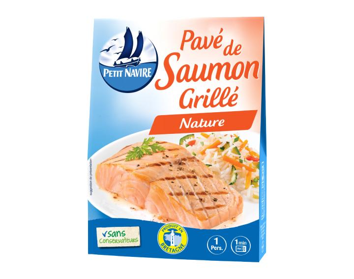 Pavé de Saumon Grillé Nature - 120g