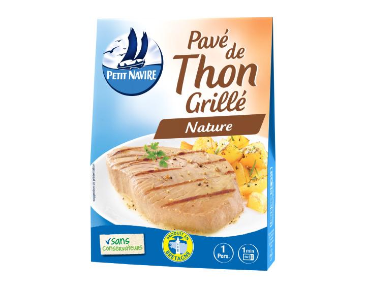 Pavé de Thon Grillé Nature - 120g